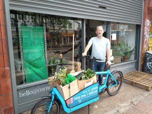 Streatham Cornercopia with cargo bike